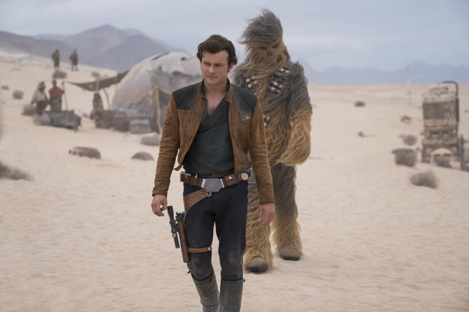 chewie and han solo the friendship begins