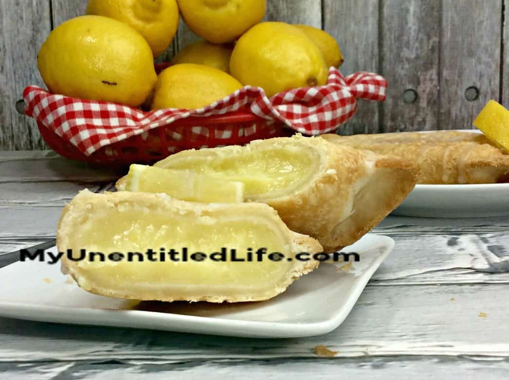 Air Fryer Lemon Hand Pie