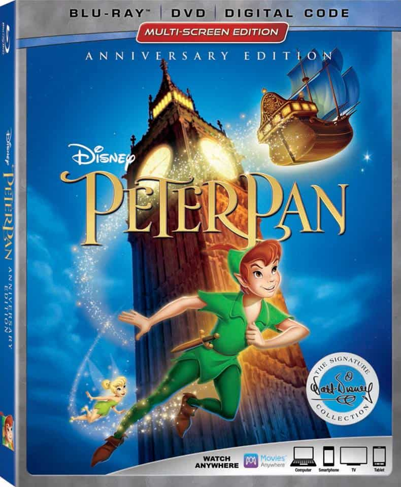 Never Before Seen Features from Peter Pan BluRay