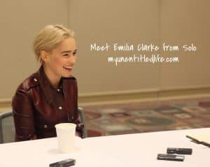 Meet Emilia Clarke from Solo