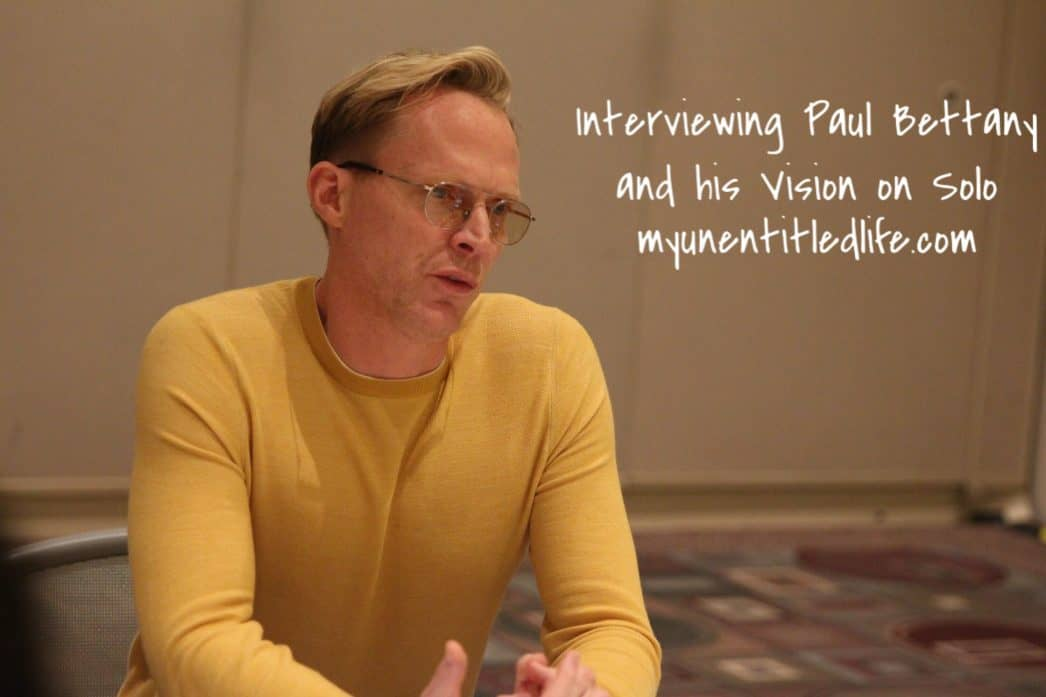 Paul Bettany interview and his vision of Solo