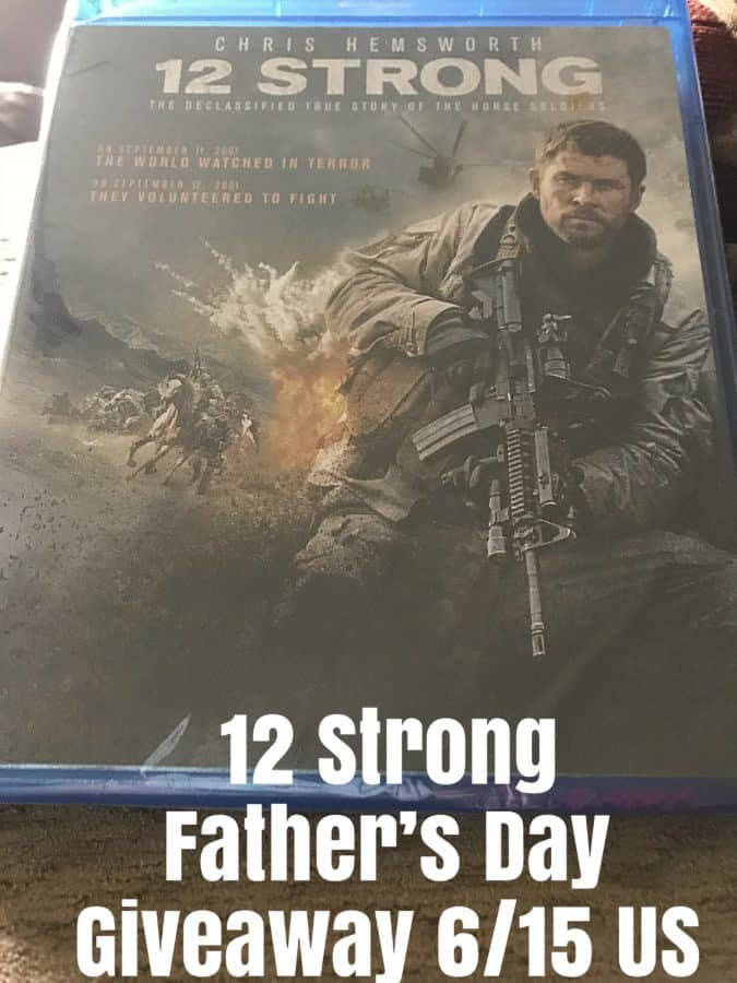 12 Strong Father's Day Giveaway 6/15 US