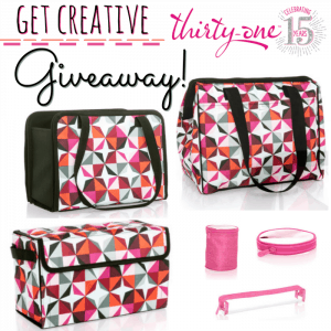 Thirty-One Gifts Get Creative Giveaway 8/31 US