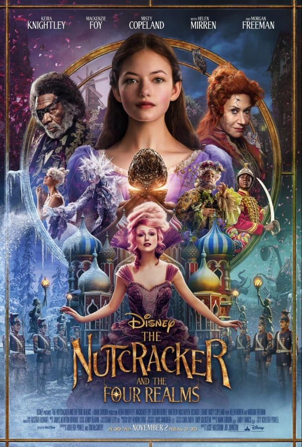 The Nutcracker and the Four Realms new trailer and poster #DisneysNutcracker