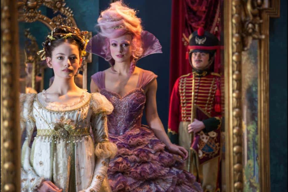 disneys nutcracker and the four realms trailer and movie info
