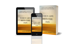 How to be a caregiver when life hits the fan  #WhenLifeHitsTheFan + Amazon giveaway