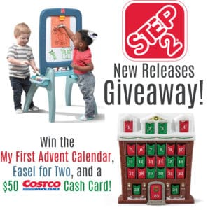 Step 2 Easel and Advent Calendar giveaway 11/9/18 Cont US