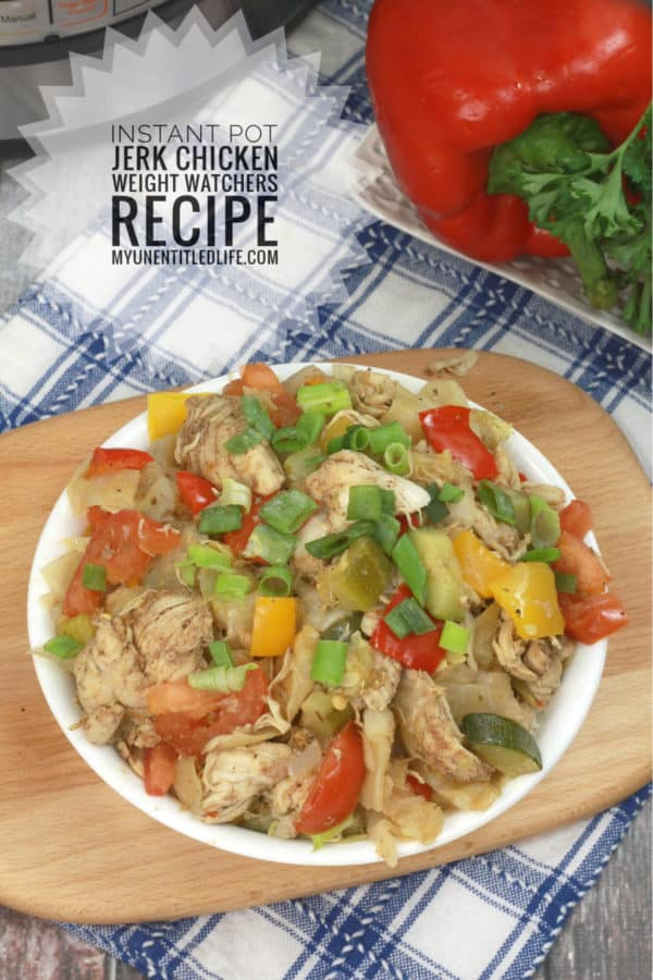 instant pot jamaican jerk chicken recipe weight watchers
