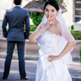 bride lost weight before wedding