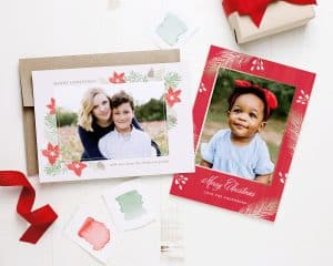 christmas in July holiday card sale