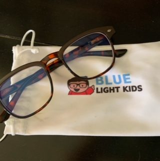 blue light kids glasses