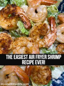 easy air fryer shrimp